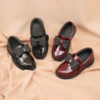 女童鞋小公主�底�涡�夏洋�庀目�和�鞋子公主鞋春秋皮鞋