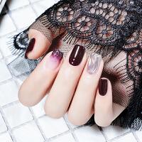 指甲油胶健康指彩无味一笔上色车厘子红钻芭比胶