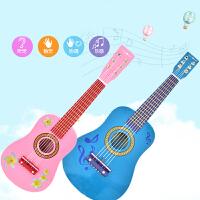 23寸彩色儿童玩具吉他木制 可弹奏儿童乐器 小吉他 六弦初学