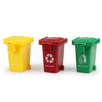 儿童大号工程车套装模型玩具垃圾分类玩具车配件环卫垃圾桶清洁桶