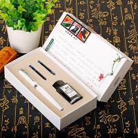 英雄钢笔3820礼盒套装 学生用书写钢笔商务办公用笔定制刻字LOGO