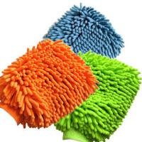 雪尼尔洗车手套/擦车手套 雪尼尔+毛巾两面使用(单只装)