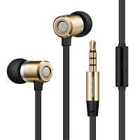 F1手机入耳式耳机 通用重低音面条线控耳塞音乐隔音耳机
