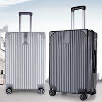新款拉杆箱万向轮24寸皮箱旅行箱女行李箱复古登机箱