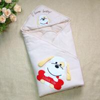 婴儿抱被新生儿春秋季可脱胆棉被子初生宝宝秋冬季厚款包被包巾定制