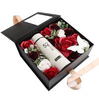 香皂花礼盒玫瑰花男女生生日浪漫创意肥皂花干花永生花圣诞节礼物 杯子款