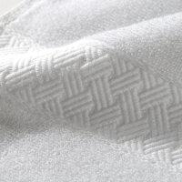 酒店纯棉大浴巾大号加大加厚白色毛巾全棉柔软吸水