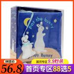 英文原版绘本 Sleepy Bunny 晚安/睡着的小兔子 Pat the Bunny 拍拍小兔子Cloth Book
