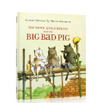 顺丰发货 The Three Little Wolves and the Big Bad Pig三只小狼和一只大坏猪