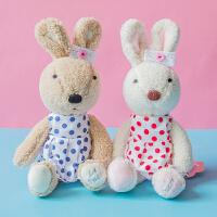 砂糖兔子公仔毛绒玩具可爱玩偶儿童睡觉抱枕定制生日礼物送女生