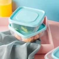 食品级PP塑料保鲜盒3件套圆形不锈钢304材质中国17个