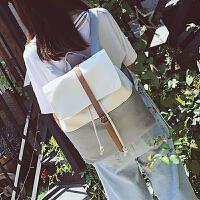 书包女原宿ulzzang 高中学生帆布双肩包女时尚小清新文艺背包