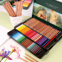 秘密花园 填色 MARCO马可雷诺阿水溶性彩色铅笔 彩色铅笔套装 3120 -48色 36色 24色 水溶彩铅可画秘密