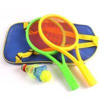 幼儿园运动锻炼儿童玩具球拍 可打乒乓球/羽毛球拍宝宝网球拍