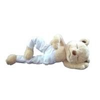 百�瑜伽熊公仔毛�q玩具�骨小熊玩偶泰迪熊布娃娃��意圣�Q��Y物抖音