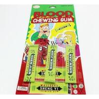 吐血口香糖绿箭创意恶搞整人糖果恶作剧恐怖血浆道具抖音同款玩具