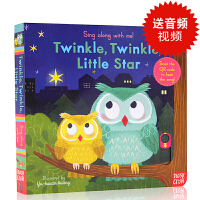 英文原版Sing Along with Me Twinkle Twinkle Little Star童谣机关操作书玩具