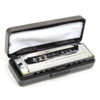 支持货到付款 奇美口琴 10孔口琴 BLUES口琴 口琴 C调口琴 布鲁斯口琴 生日礼物 QM-2512