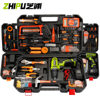家用电钻工具箱套装电工木工专用五金车载手提式套装维修工具