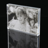 强磁亚克力相框 130*180mm 水晶相架 台卡 形象牌瑞普6335