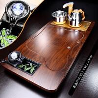泡茶套装家用客厅石磨流水茶盘陶瓷茶杯茶壶办公会客现代简约茶台