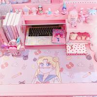 生日礼物女生可爱美少女小樱魔法阵鼠标垫创意桌垫 粉嫩软妹办公室游戏鼠标垫