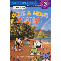 Ollie & Moon: Aloha! (Step into Reading, Step 3) 小猫奥利和小月:你好