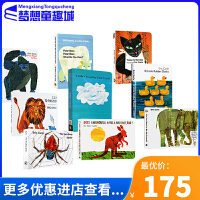 #Eric Carle 卡尔爷爷经典系列 英文原版绘本0 3岁 9册纸板书  艾瑞 卡尔 Today Is Monday/1,2,3,To The Zoo/From Head to Toe