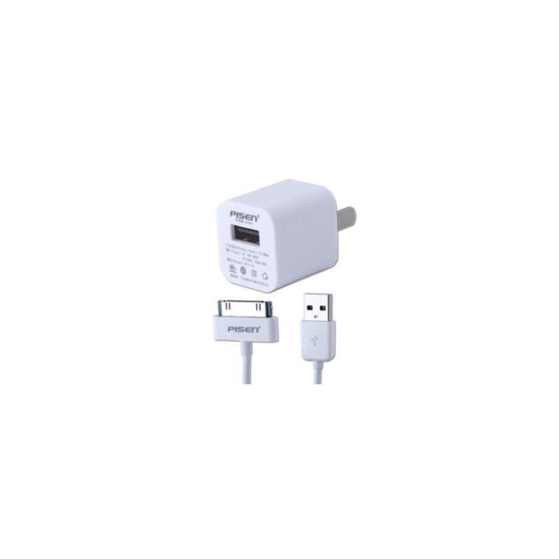 品胜 爱充苹果IPHONE 4 4S 3GS 5 IPOD touch充电器 数据线