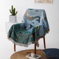 北欧沙发布沙发巾全盖布单沙发套ins风单双人网红沙发毯子沙发罩