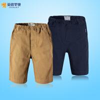 【两件1.3折价:34.7元】英格里奥童装男童装裤子夏装短裤五分裤LLB1058