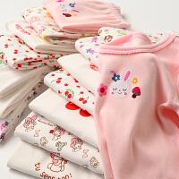 两件装 女童套装儿童长袖裤居家服保暖中大童 秋款