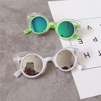 可爱夏款儿童男女童宝宝沙滩度假凹造型太阳眼镜墨镜