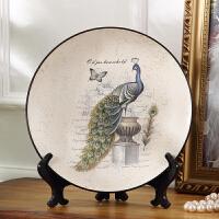 家居饰品欧式客厅创意摆件酒柜装饰品摆设美式装饰陶瓷软装电视柜