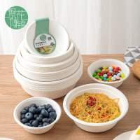 一次性纸盘子蛋糕餐盘餐具碗筷盘叉装菜家用派对画画手工制作碟子