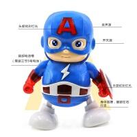钢铁侠玩具Q版卡通版儿童电动跳舞机器人玩具复仇者联盟