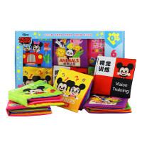 米奇布书儿童早教数字字母形状颜色认知0-1-2-3岁开发智力男孩儿童宝宝玩具