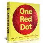 顺丰发货 One Red Dot: A Pop-Up Book for Children of All Ages 立体