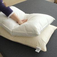 单人护颈椎羽绒枕头学生羽毛枕芯一对-p定制