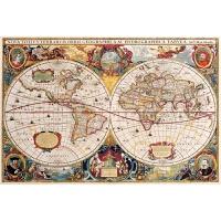 儿童地理大发现1000片500木质益智拼图300儿童益智创意礼物