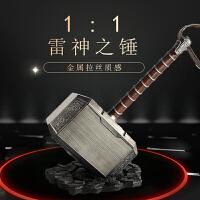 雷神之锤1:11比1仿真金属质感ABS塑料玩具大号模型装饰摆件cos道具