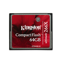 金士顿(Kingston) 64GB 266X CF存储卡(CF/64GB-U2)