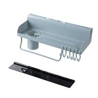 厨房壁挂置物架厨具锅铲挂架调味品收纳架调料架浴室整理架