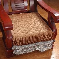 毛绒实木沙发垫沙发坐垫沙发垫子实木椅垫冬季座垫x定制