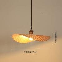 {至为家居}楠竹家具创意个性吊灯造型灯异形灯loft餐厅灯日式灯具竹编艺术灯