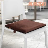 记忆棉汽车座垫办公室学生凳子椅子坐垫加厚屁垫沙发椅垫餐椅垫子
