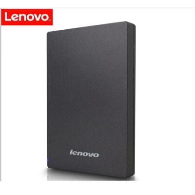 联想(Lenovo) 移动硬盘1T USB3.0高速传输便携 NAS外接硬盘 F308 2.5英寸黑色(新老包装随机发货) 1T USB3.0高速传输便携 NAS外接硬盘