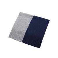 围巾男冬季新款百搭韩版简约男士围巾针织毛线围脖学生长款年轻人