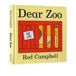 【现货】 Dear Zoo 进口英文原版绘本0 3岁 亲爱的动物园 立体纸板翻翻书 国外经典亲子阅读 吴敏兰书英文书单