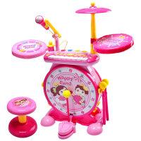 架子鼓玩具儿童初学打鼓乐器1-3-6岁宝宝音乐电子琴男女孩